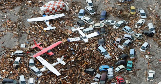 Japonya 8,9 büyüklüğünde deprem