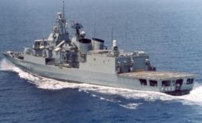Çin savaş gemileri Libya