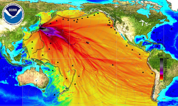 Fukushimadan yayılan radyasyon