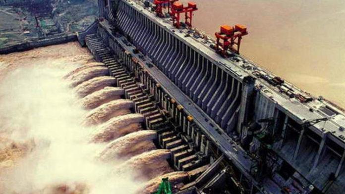Çindeki barajlar