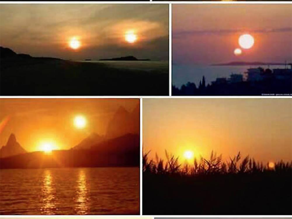 İki güneş görüntüleri
