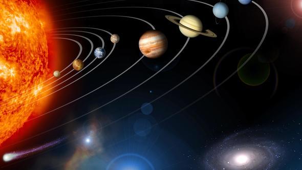 Güneş sistemine giren bir gezegen