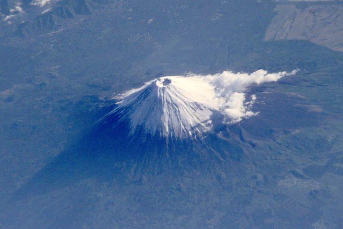 Fuji yanardağı patlamak