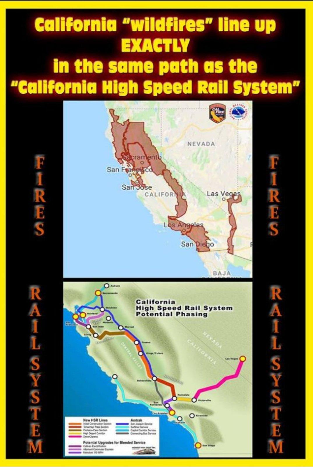 kaliforniya yangın yolu